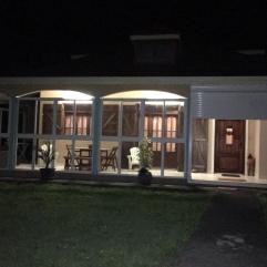 Terrasse éclairée